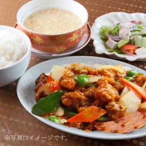 酢豚定食 860円/1人前