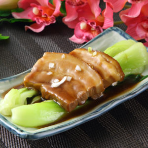 肉料理人気NO1! 豚バラ肉の醤油煮込み
